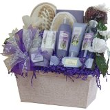 Art of Appreciation Gift Baskets Large Lavender Renewal Spa, Bath and Body Set