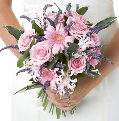Lavender Wedding Flowers, Lavender Wedding Bouquet