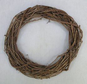 Lavender Wreath Vine Base