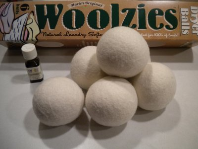 Wool Dryer Balls with Lavender Oil