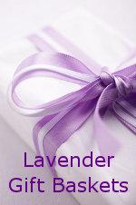 Send a Lavender Gift Basket
